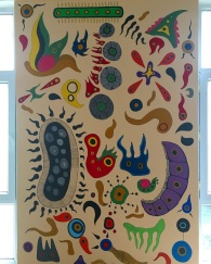 Artwork at Hacettepe University Biology Department